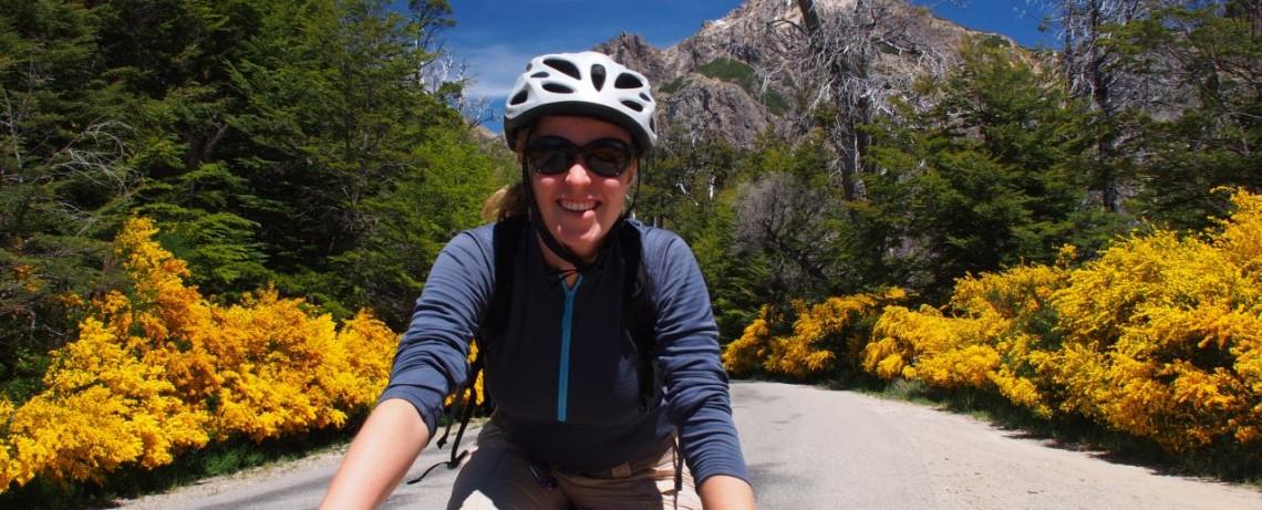 Joana auf Tour - Cuircuit Chico - Bariloche