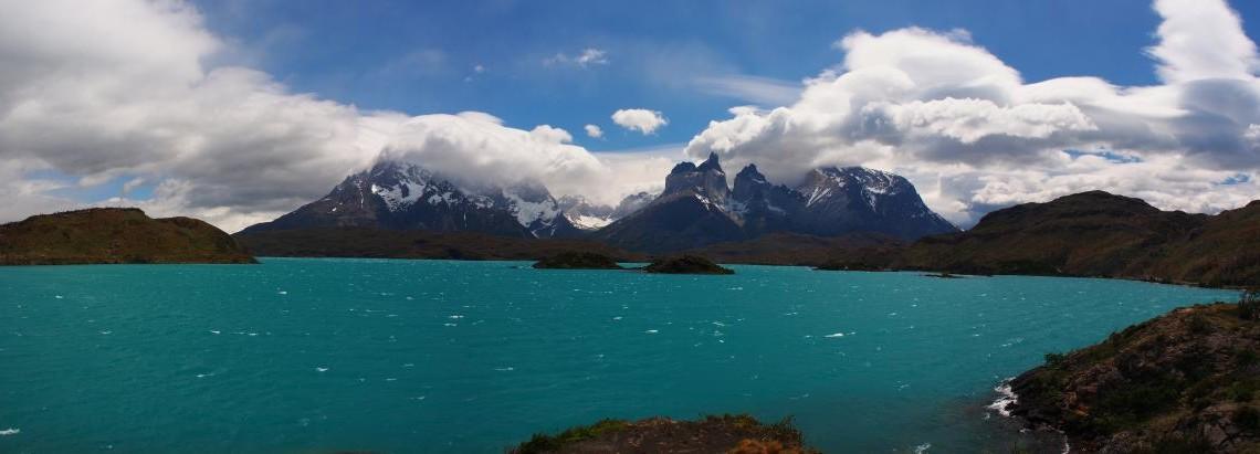 Lago Pehoé - Torres del Paine NP - Tag 4